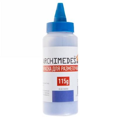Порошок синий для разметочного шнура Archimedes 115 г цена