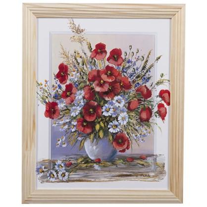 Постер в раме 20х25 см Полевые Цветы цена