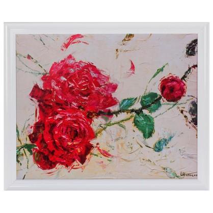 Постер в раме 40х50 см Дикие розы II цена