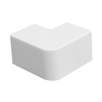 Поворот 90 градусов 16/16 мм цвет белый 4 шт.