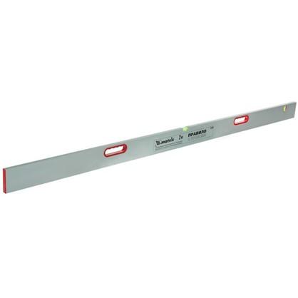 Правило алюминиевое с уровнем Matrix 2 м 2 ручки цена
