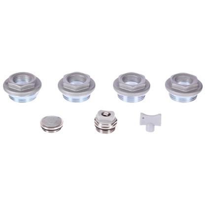 Присоединительный набор Royal Thermo 1/2 дюйма цвет серый
