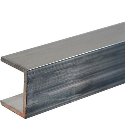 Профиль алюминиевый П-образный 20х25х20х2x2000 мм