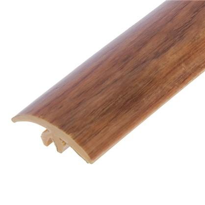 Профиль напольный гибкий 3 м цвет орех цена