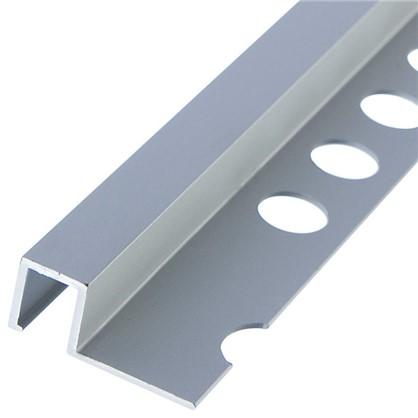 Профиль окантовочный 1x270 см цвет серебро цена