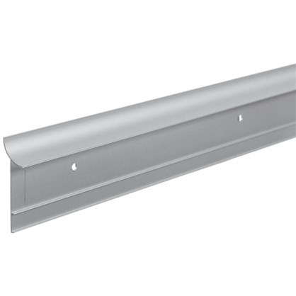 Профиль пристенный ALK0011 300 см алюминий цвет серебро цена