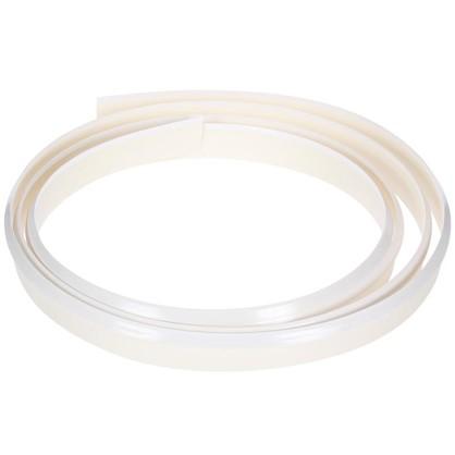 Профиль пристенный гибкий 320 см пластик цвет белый цена
