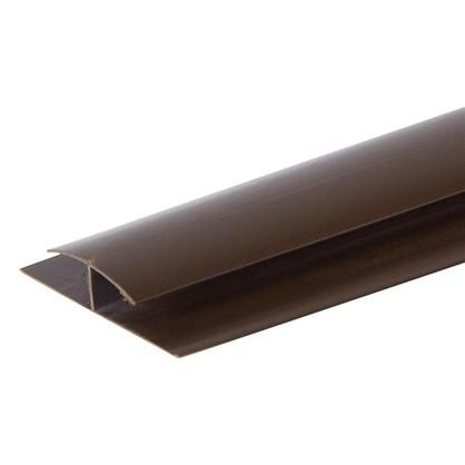 Профиль ПВХ Artens соединительный т8/10 мм 3 м цвет коричневый цена