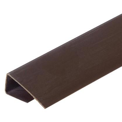 Профиль ПВХ Artens т8/10 мм 3 м цвет коричневый цена