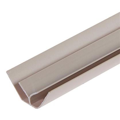 Профиль ПВХ Artens внутренний угол т5 мм 3 м цвет бежевый цена