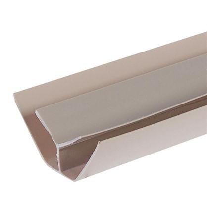 Профиль ПВХ Artens внутренний угол т8/10 мм 3 м цвет бежевый цена