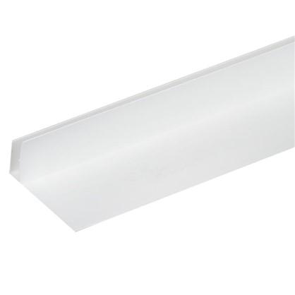 Профиль ПВХ F-образный 60 мм для панелей 8 мм 3000 мм цвет белый цена