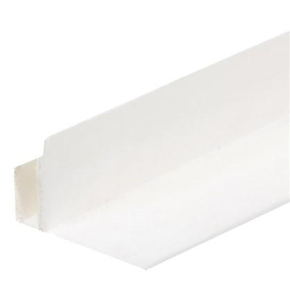 Профиль ПВХ F-образный для панелей 5 мм 3000 мм цвет белый цена