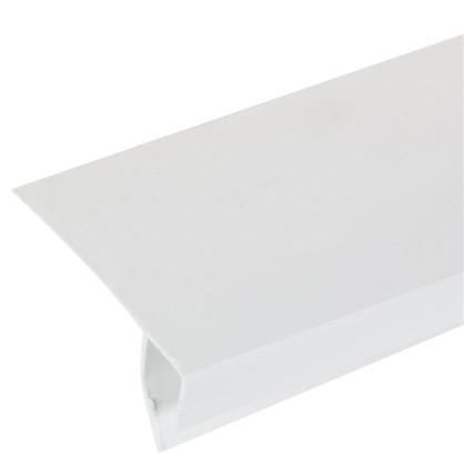 Профиль ПВХ оконный F-образный 3000 мм цвет белый цена