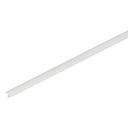 Профиль ПВХ T-образный для панелей 8 мм 3000 мм цвет белый цена