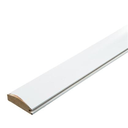 Профиль рамочный МДФ 55х16х2070 мм цвет белый цена
