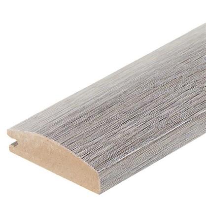 Профиль рамочный МДФ 55х16х2070 мм цвет серый цена