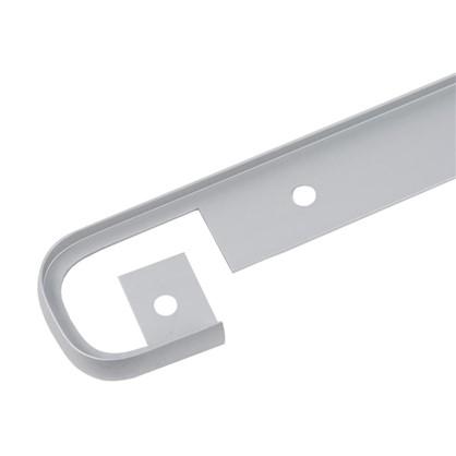 Профиль соединительный 28 мм R3 RAL9006 цена