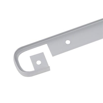 Профиль соединительный 38 мм R3 RAL9006 цена