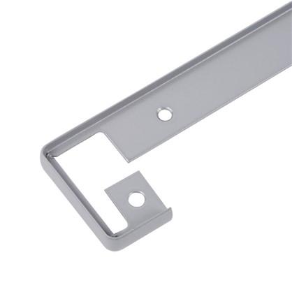 Профиль соединительный 40 мм. RAL9006 цена
