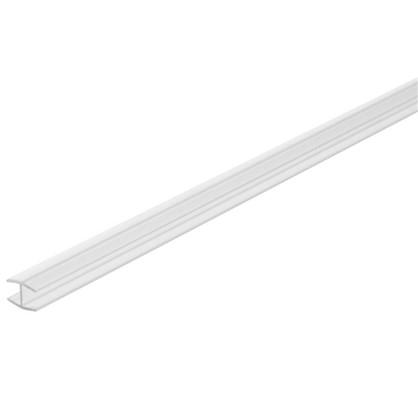 Профиль соединительный Н-образный для стеновой панели 60х0.4 см пластик цена
