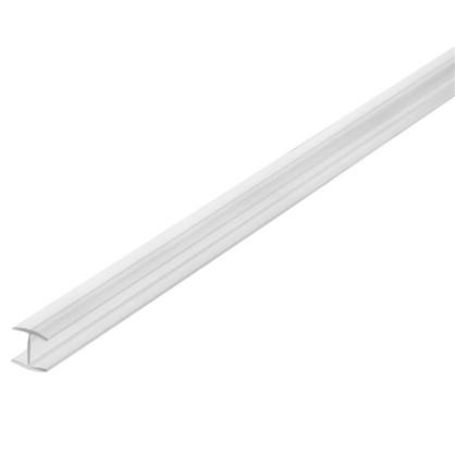 Профиль соединительный Н-образный для стеновой панели 60х0.6 см пластик цена