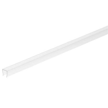 Профиль торцевой П-образный для стеновой панели 60х0.4 см пластик цена