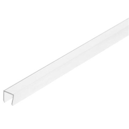 Профиль торцевой П-образный для стеновой панели 60х0.6 см пластик цена
