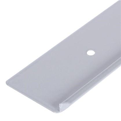 Профиль торцевой RAL9003 (R3) 38 мм цена