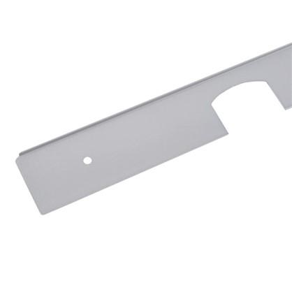 Профиль угловой 28 мм R3 RAL9006 цена