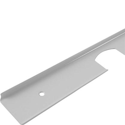 Профиль угловой 38 мм R3 RAL9003 цена