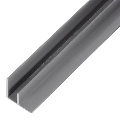 Профиль угловой F-образный для стеновой панели 60х0.4 см алюминий цена
