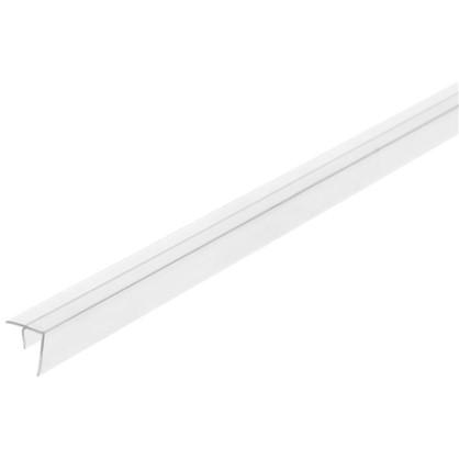 Профиль угловой F-образный для стеновой панели 60х0.6 см пластик цена