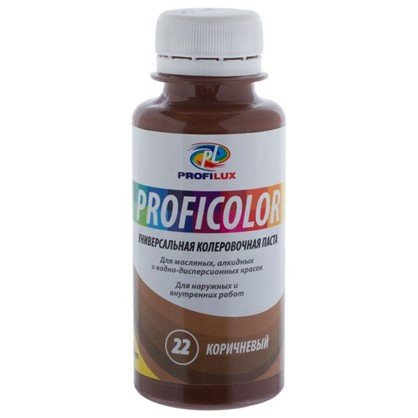 Профилюкс Profilux Proficolor №22 100 гр цвет коричневый