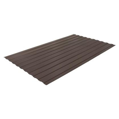 Профнастил С8 1.18x2 м с полиэстеровым покрытием 035 мм цвет коричневый цена