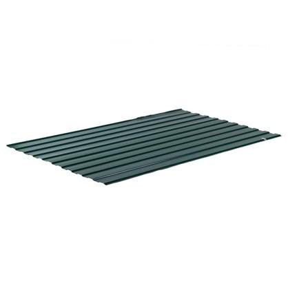 Профнастил С8 1.18x2 м с полиэстеровым покрытием 035 мм цвет зеленый цена