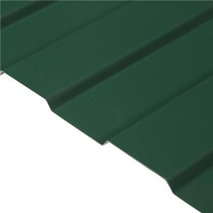 Профнастил С8 с полиэстеровым покрытием 1.2х2 м 0.45 мм цвет зелёный цена