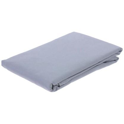 Простыня 1.5-спальная Pearl Blue 160х220 см сатин цена
