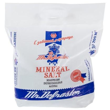 Противогололедный реагент Минеральная соль 10 кг