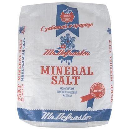 Противогололедный реагент Минеральная соль 25 кг