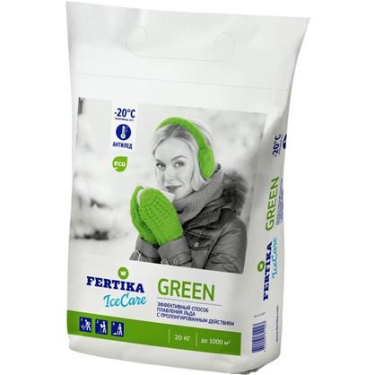 Противогололёдное средство Фертика Ice Care Green 20 кг