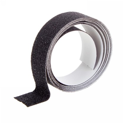 Противоскользящая лента 25х1500 мм цвет черный