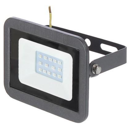 Прожектор светодиодный Volpe 10 Вт 160 Лм IP65 цвет синий цена