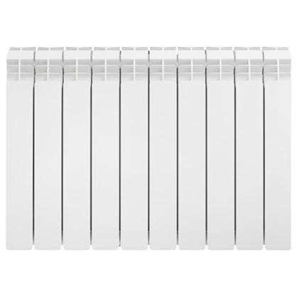 Алюминиевый радиатор Equation 500/90 10 cекций цена