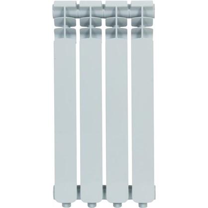 Алюминиевый радиатор Monlan 500/70 4 секции цена