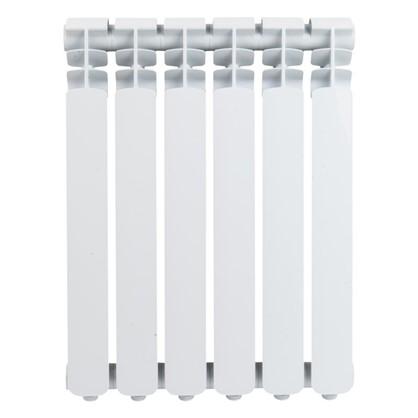 Алюминиевый радиатор Monlan 500/70 6 секций цена