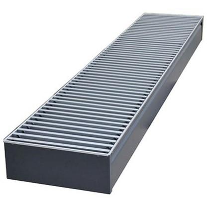 Стальной радиатор напольный Бриз 260х80х1000 см цена