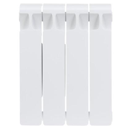 Биметаллический радиатор Rifar Monolit 350 4 секции нижнее правое подключение цена