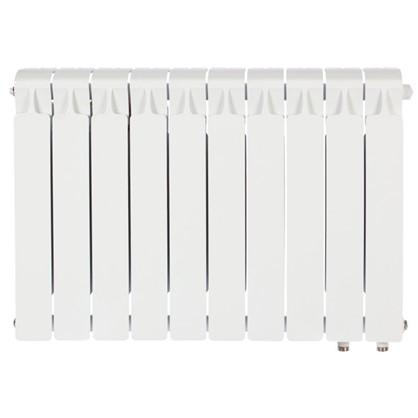 Биметаллический радиатор Rifar Monolit 500 10 секций нижнее правое подключение цена