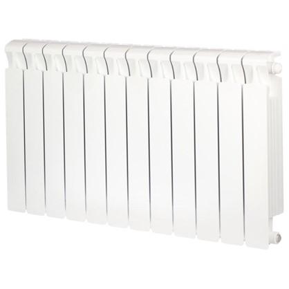 Биметаллический радиатор Rifar Monolit 500 12 секций нижнее правое подключение